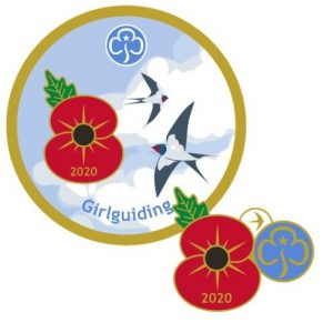Guiding Remembrance Day Badges 2020
